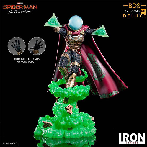 Iron Studios 1/10 Spider-Man: Far From Home Mysterio Statue
