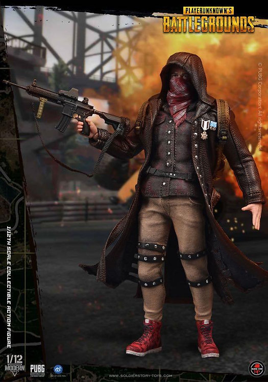 Soldier Story SSG-002 PUBG PlayerUnknown's Battlegrounds Trenchcoat 1/12 Figure