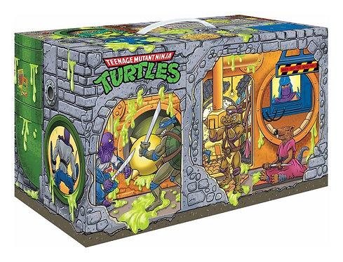 Playmates Teenage Mutant Ninja Turtles Sewer Lair Rotocast 6-Pack PX