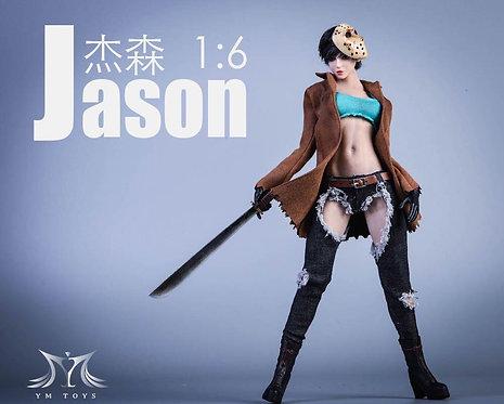 YMTOYS YMT034 Female Jason 1/6 Costume Set