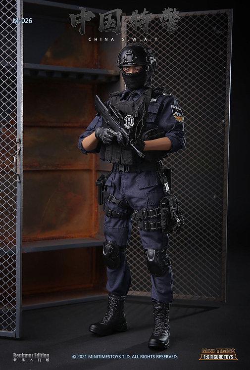 Mini Times MT-M026 China SWAT 1/6 Figure