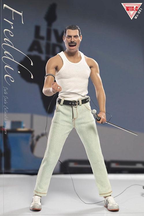 Win.C Studio WC001B Freddie White Shirt 1/6 Costume Set