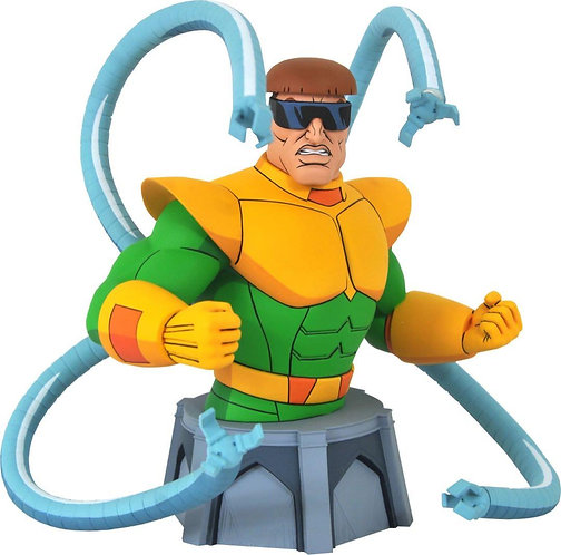 Diamond Select Marvel Spider-Man Animated Doctor Octopus Bust