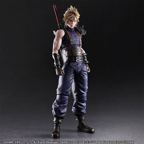 Final Fantasy VII Remake Play Arts Kai Cloud Strife (Limited Color Ver.)
