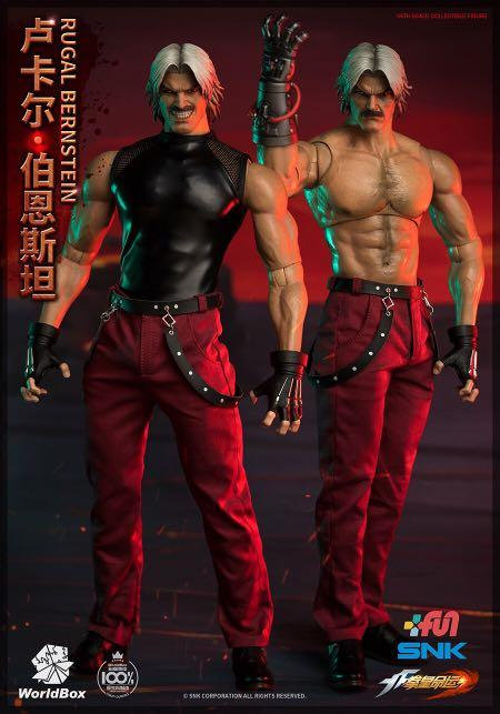 World Box KF101 The King Of Fighters RUGAL 1/6 Figure (Deluxe)