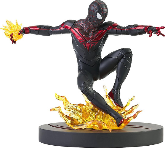 Diamond Select Marvel Gallery Spider-Man PS5 Miles Morales Statue