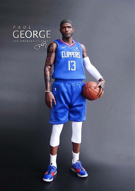 Trash Bro Toys TBT-002 Paul George LOS Angeles Clippers 1/6 Figure