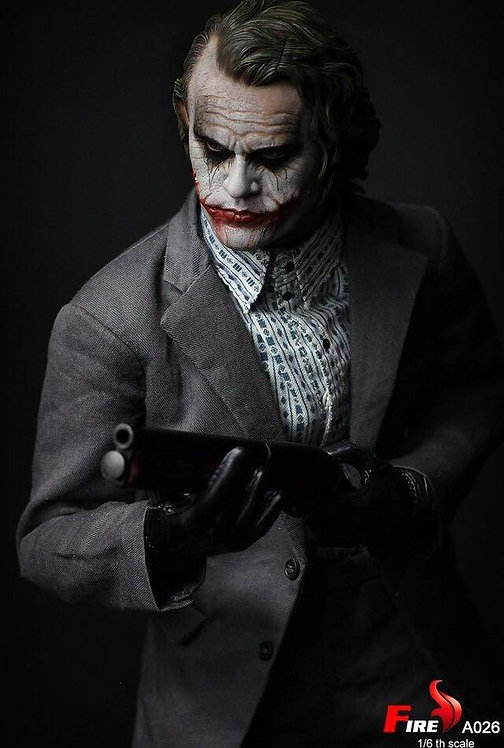 FIRE A026 Batman Dark Knight Bank Robber Joker 1/6 Figure