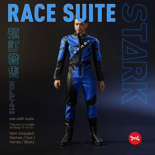 DJ Custom 1/6 Racing Suit with Helmet