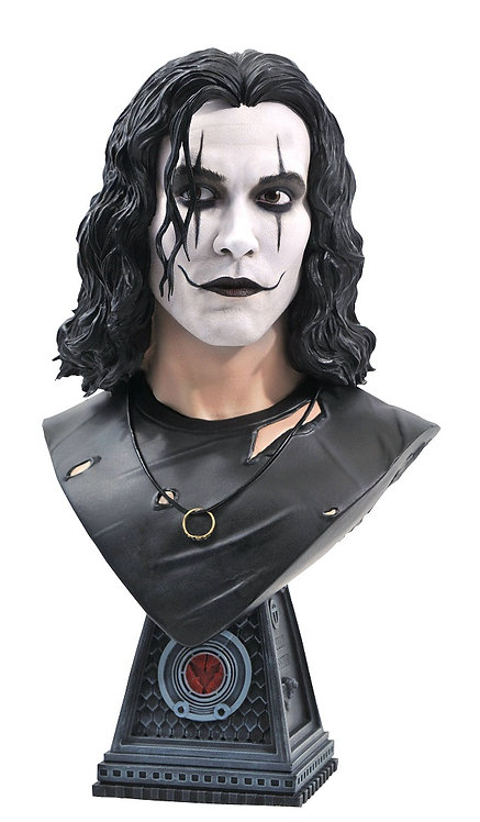 Diamond Select The Crow Legends in 3D Crow 1:2 Scale Bust