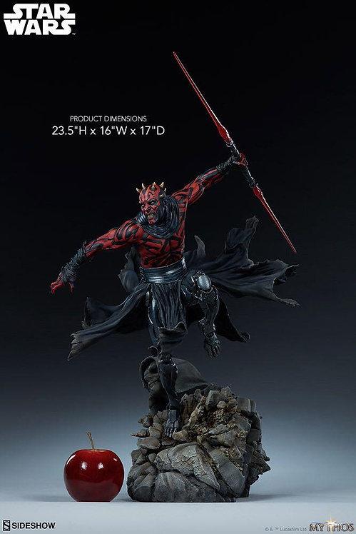 Sideshow Darth Maul Mythos Statue