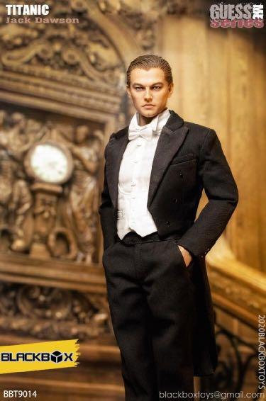 BLACKBOX BBT9014A 1/6 Guess Me Series Titanic Jack Tailcoat Version A