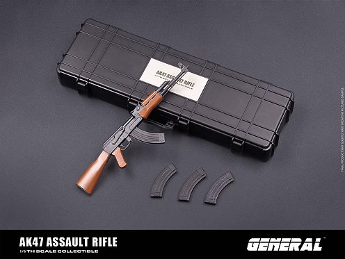 GENERAL GA-004 AK47 Assault Rifle 1/6 Collectible