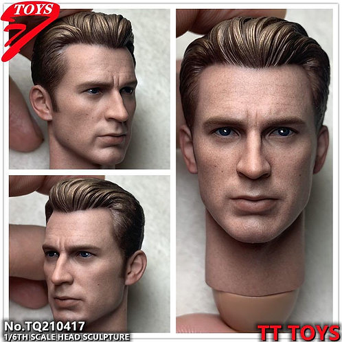 TTTOYS TQ210417 Male 1/6 Headsculpt