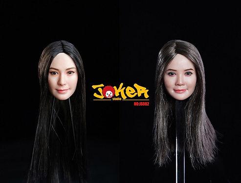 JOKER STUDIO JS002 Asian Actress Double 1/6 Headsculpt
