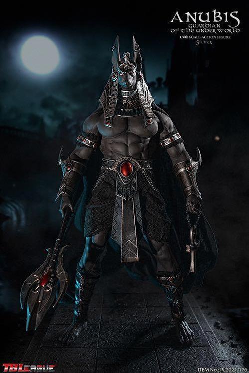 TBLeague PL2021-176 Anubis Guardian of The Underworld 1/6 Figure - Silver