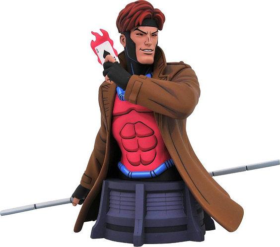 Diamond Select Marvel Animated X-Men Gambit Bust