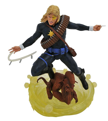 Diamond Select Marvel Gallery Comic Longshot Statue