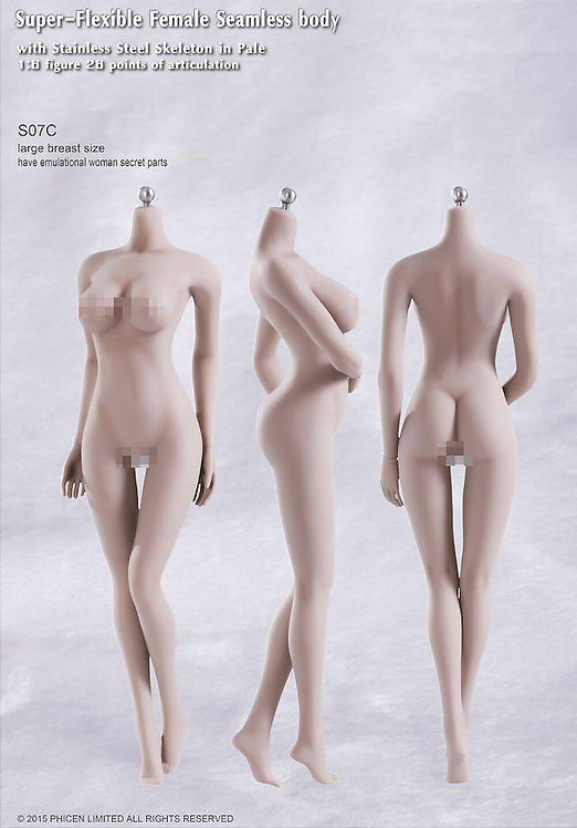S07C TBLeague Phicen 1/6 scale female seamless body