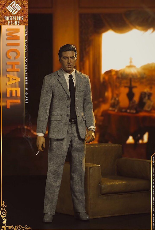 PRESENT TOYS PT-SP09 The Second Mob Boss 1/6 Figure