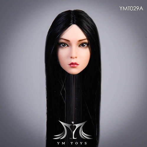 YMTOYS YMT029A - 1/6 The Roses Black Hair Headsculpt