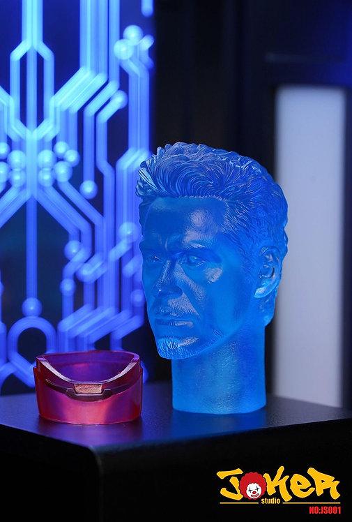 JOKER STUDIO JS001 Holographic 1/6 Headsculpt