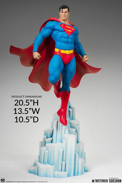Sideshow Superman Maquette by Tweeterhead