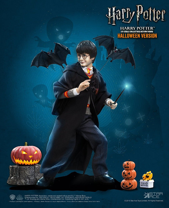 Star Ace Toys HW0001 - Harry Potter (Child) with Halloween accessories