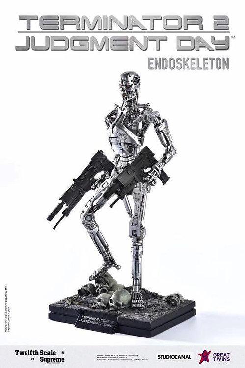 Great Twins Terminator 2: Judgement Day Endoskeleton 1/12 Exclusive