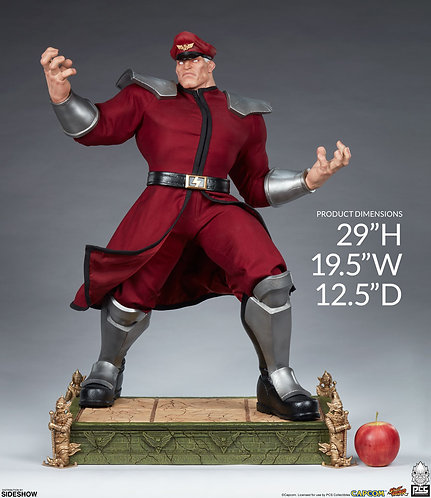 Sideshow M. Bison 1:3 Scale Statue by PCS Collectibles