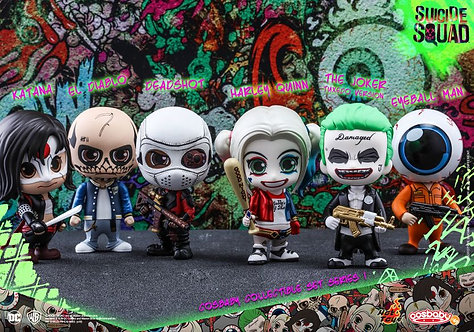 Hot Toys Cosbaby Suicide Squad Cosbaby Collectible Set Series1