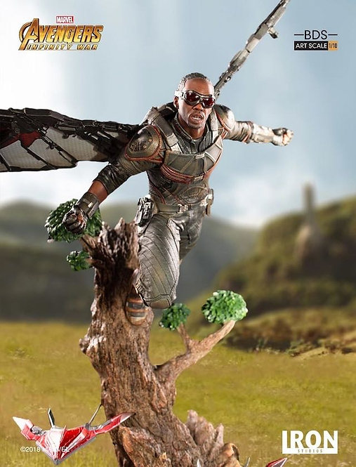 Iron Studios 1/10 art scale infinity war Falcon statue