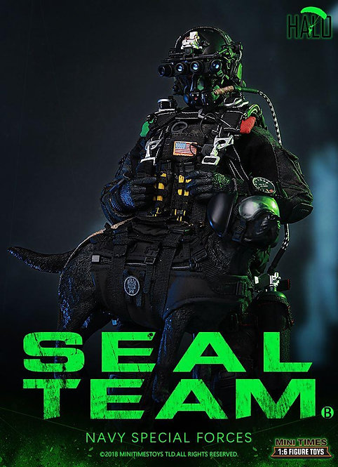 Mini Times MT-M013 Seal Team Navy Special Forces B Halo 1/6 Figure