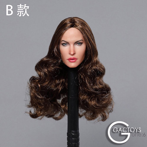 GACTOYS GC029B European Female Star 1/6 Headsculpt