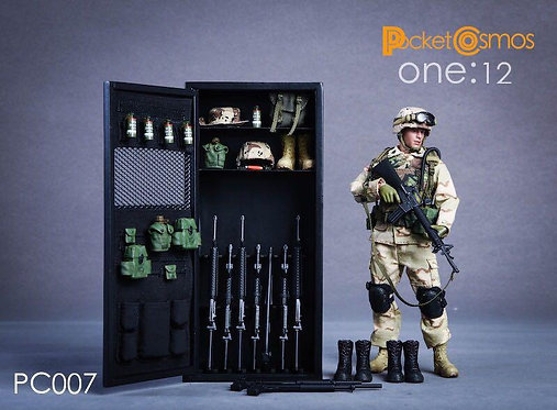 PCTOYS PC007 - 1/12 Metal Weapon Cabinet 2.0 Locker