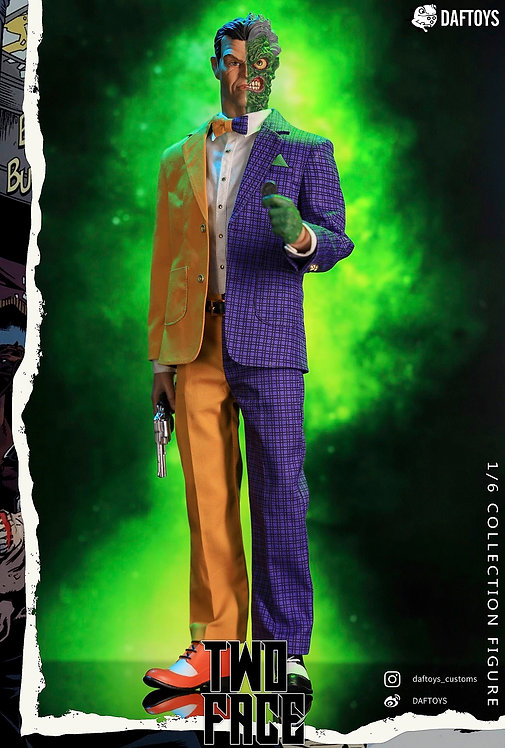 Daftoys F06 Two Face 1/6 Figure