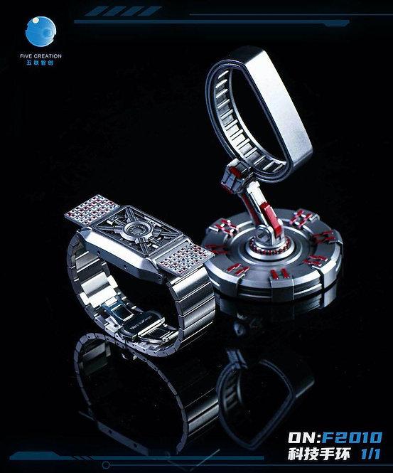 FIVETOYS F2010 1/1 Technology Bracelet Repulsor Watch