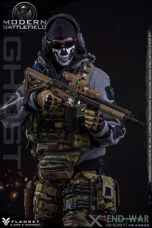 FLAGSET FS-73033 Modern Battlefield END WAR Ghost 1/6 Figure