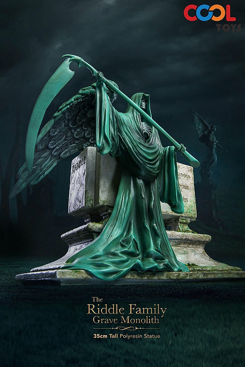 CoolToys C002 The Riddle Family Gravestone Polyresin Statue