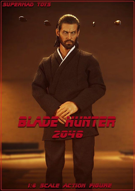 SUPERMADS TOYS Evil Wallace blade hunter 2046 1/6 Figure