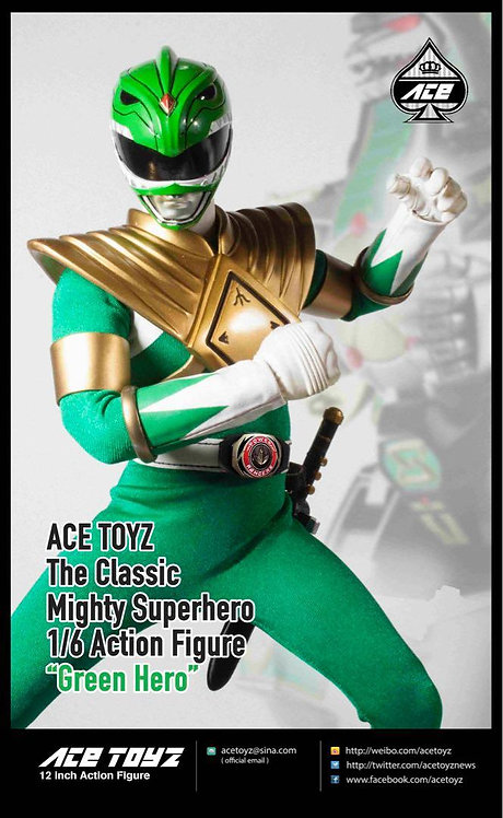 Ace Toyz The Classic Mighty Green Hero 1/6 Figure