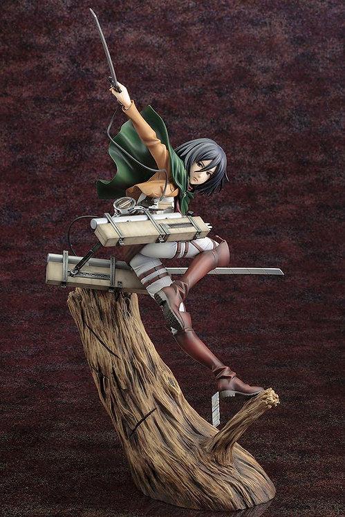 Kotobukiya ARTFX J Mikasa Ackerman Renewal Package Ver. 1/8 Statue