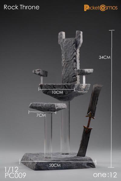 PCTOYS PC009 - 1/12 Rock Throne