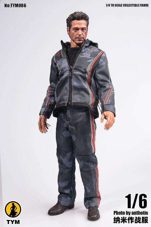 TYM086 Tony Nano Combat Uniform 1/6 Costume Set