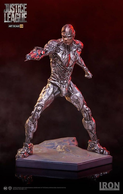 Iron Studios 1/10 Justice League Cyborg statue