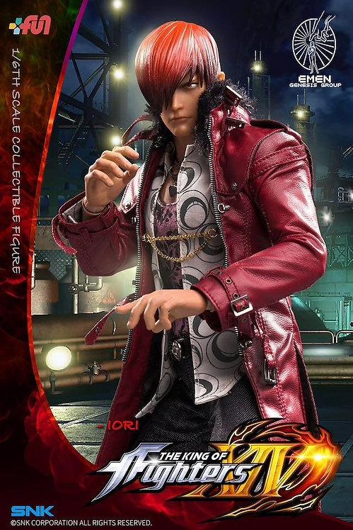 Emen Genesis KOF-IR01 The King of Fighters XIV Iori Yagami 1/6 Figure