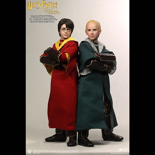 Star Ace Toys SA0017 - Harry Potter & Draco Malfoy (Quidditch)