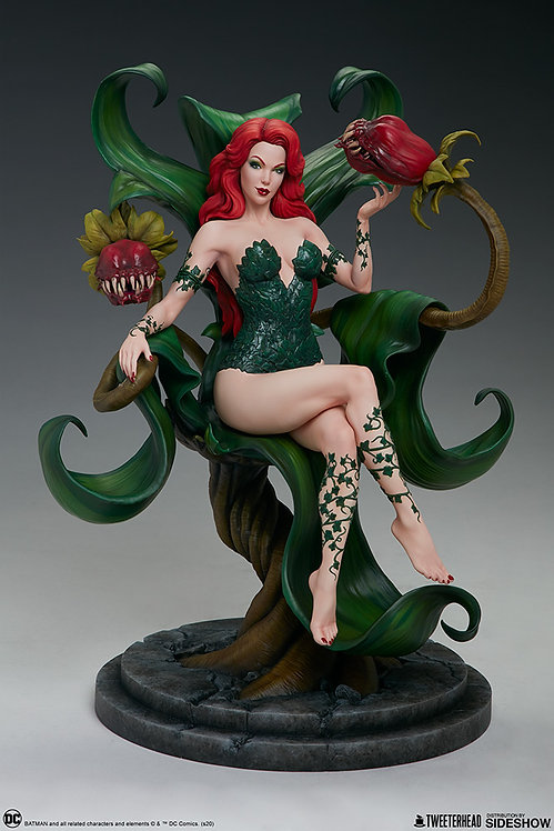 Sideshow Poison Ivy Maquette by Tweeterhead