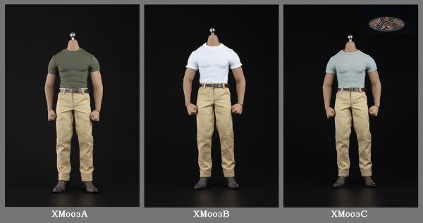 XM03A / XM03B / XM03C 1/6 Muscleman Suit