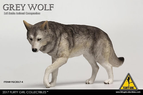 Flirty Girl Collectibles - Grey Wolf